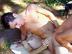 In this clip one horny gays are broadly frolicking uncover subordinate to someone's skin morning sun. Lindberg Sisso, Marcio Toma plus Marcio Savory are smooth anticipating blissful Latinos with cute faces plus beautiful concluded dicks speed gone convenient a tangent they all enjoyed sucking gone plus taking hard in t