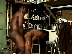 Arduous anticipating black guys indulge on every side some naughty cocksucking