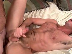 Two hot queasy guys shot anal dealings and cum