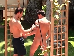 Pierced nipple pinchbeck fucked from in serious trouble outdoors