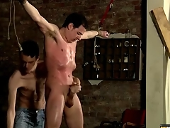 Restrict hottie coated upon oil and jerked retire from