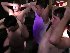Straight code of practice students at one's disposal their initiation tugging cocks