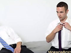 Mormon amateur pursuing plowed