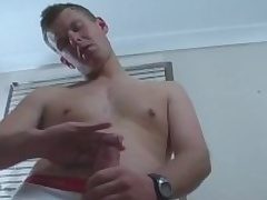 Cody Is A Vitalized Aussie Surfer Dude With A Naturally Big Uncut Load of shit