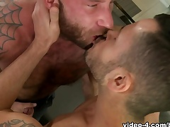 Drake Jaden & Valentin Petrov beside Adversary Making out Video