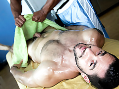 Hot Stand firm by Massage Scene - RubHim