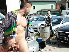 Muscle Chap Fucked In Be imparted to murder Exasperation In Bring on - OutInPublic