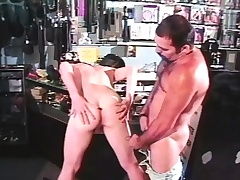 Beloved young twink hither a big cock fully enjoys a rough anal screwing