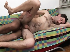 Twink spanks bore and then gives him pill popper before he gets his bore nailed